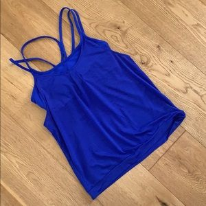 Athleta bra top with attached tank